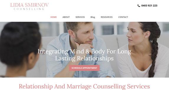 Lidia Smirnov Counselling